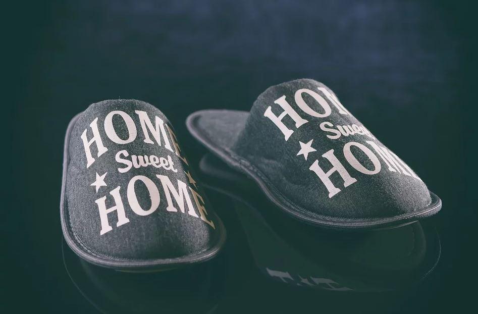 Individuelle Pantoffeln für Zuhause